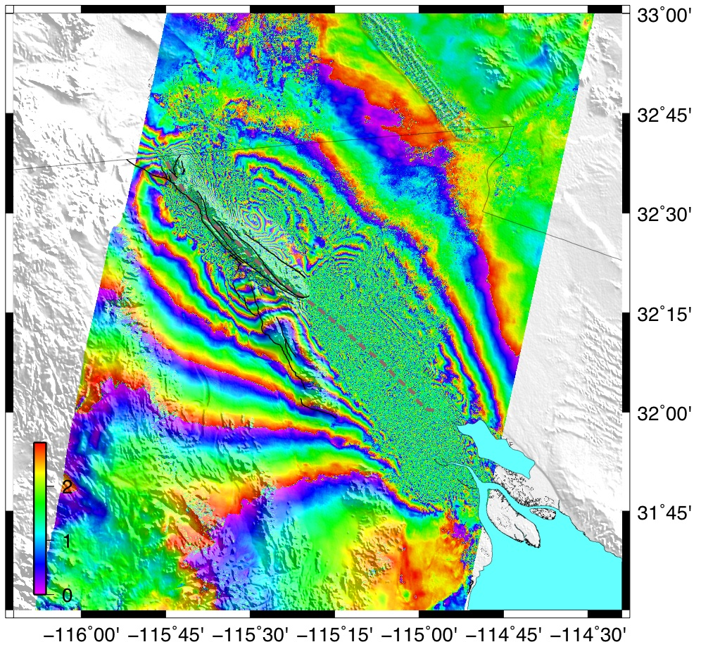 San Andreas Fault From Space Synthetic Aperture Rad...
