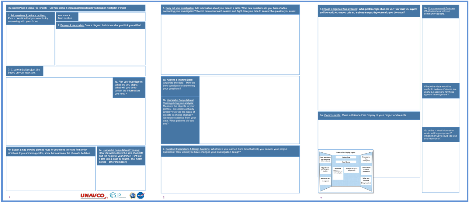 Science fair template