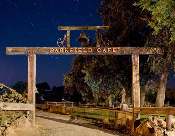 Parkfield, California--home of earthquake experiments and the Parkfield Cafe.