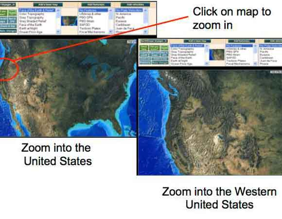 Setting up your map using EarthScope Voyager Jr.