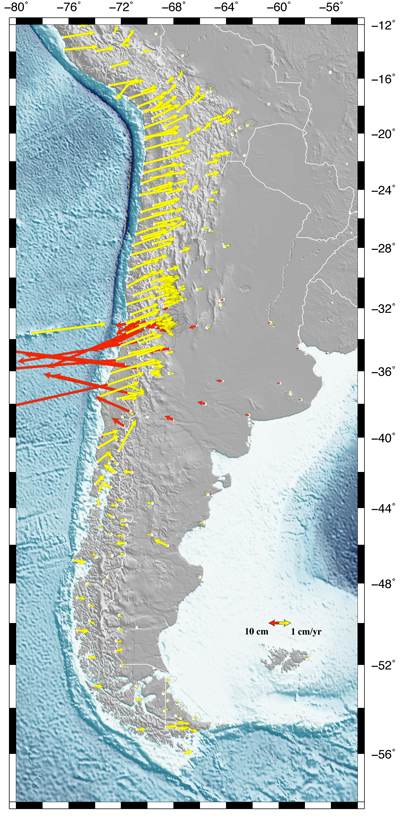 1960 Chile Earthquake Map.Community Geophysical Event Response Mw 8 8 Chile Earthquake Feb