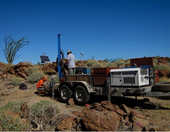 The UNAVCO modified Little Beaver Drill Rig.