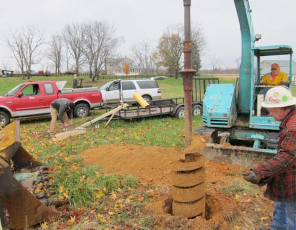 Drilling VA01.