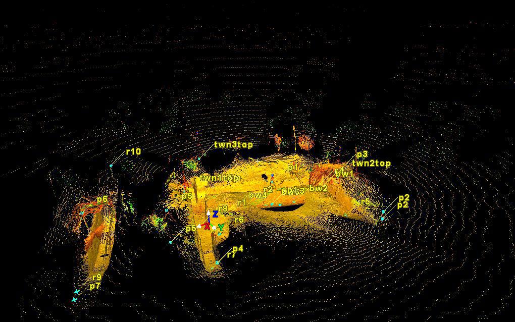 San Jacinto Fault Scanned with a Terrestrial Laser Scanner (TLS