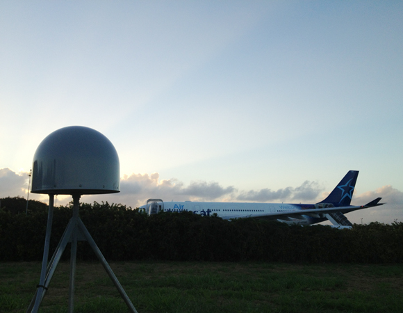 COCONet site CN05 at the Punta Cana International Airport, Dominican Republic. Photo by Mike Fend.