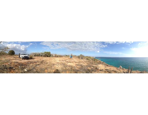 Panorama of site CN08. Photo by John Sandru.