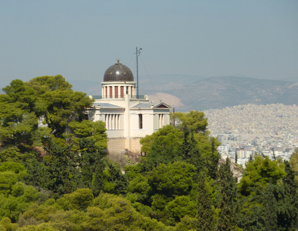 National Observatory of Athens, Greece. Photo by Stuart Wier.