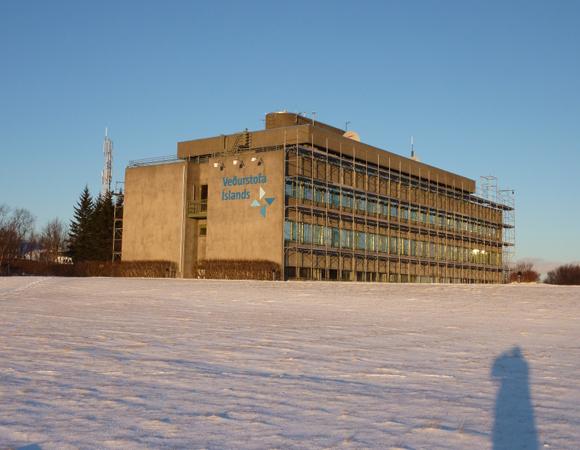 Iceland Meteorology Office, Rejkyavik. Photo by Stuart Wier.
