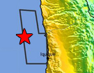 Mw 8.2 Earthquake 95km NW of Iquique, Chile