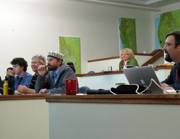 Workshop participants in a working session. (Photo by Melissa Weber, UNAVCO)