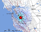 Mw 4.0 Earthquake 3km NNE of Fremont, California