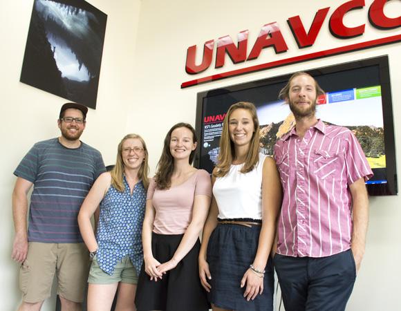 2015 UNAVCO Summer Internship Program (USIP) participants. (Photo/Beth Bartel, UNAVCO.)