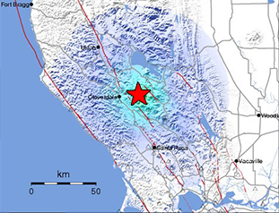 Data Event Response to the December 14, 2016 M5.0 Earthquake 8km NW of The Geysers, California