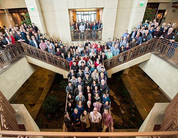 Participants of the 2016 UNAVCO Science Workshop in Broomfield, Colorado. (Photo/J. La Plante)