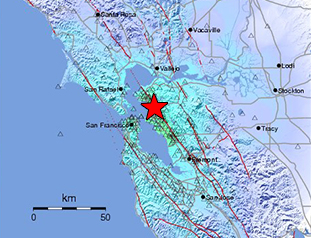 Data Event Response to the January 4, 2018 M4.4 Earthquake 2km SE of Berkeley, California