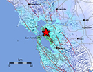 January 4, 2018 M4.4 Earthquake 2km SE of Berkeley, California