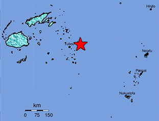 Data Event Response to the August 19, 2018 M 8.2 Earthquake 280km NNE of Ndoi Island, Fiji