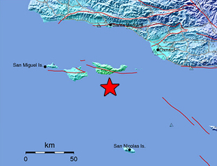 Data Event Response to the April 5, 2018 M5.3 Earthquake 29km SW of Santa Cruz Is. (E end), California