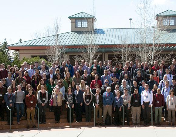 Participants of the 2018 UNAVCO Science Workshop. (credit: D. Zietlow/UNAVCO)