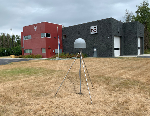 Alaska RAPID station FH63. (Photo/Jim Normandeau, UNAVCO)