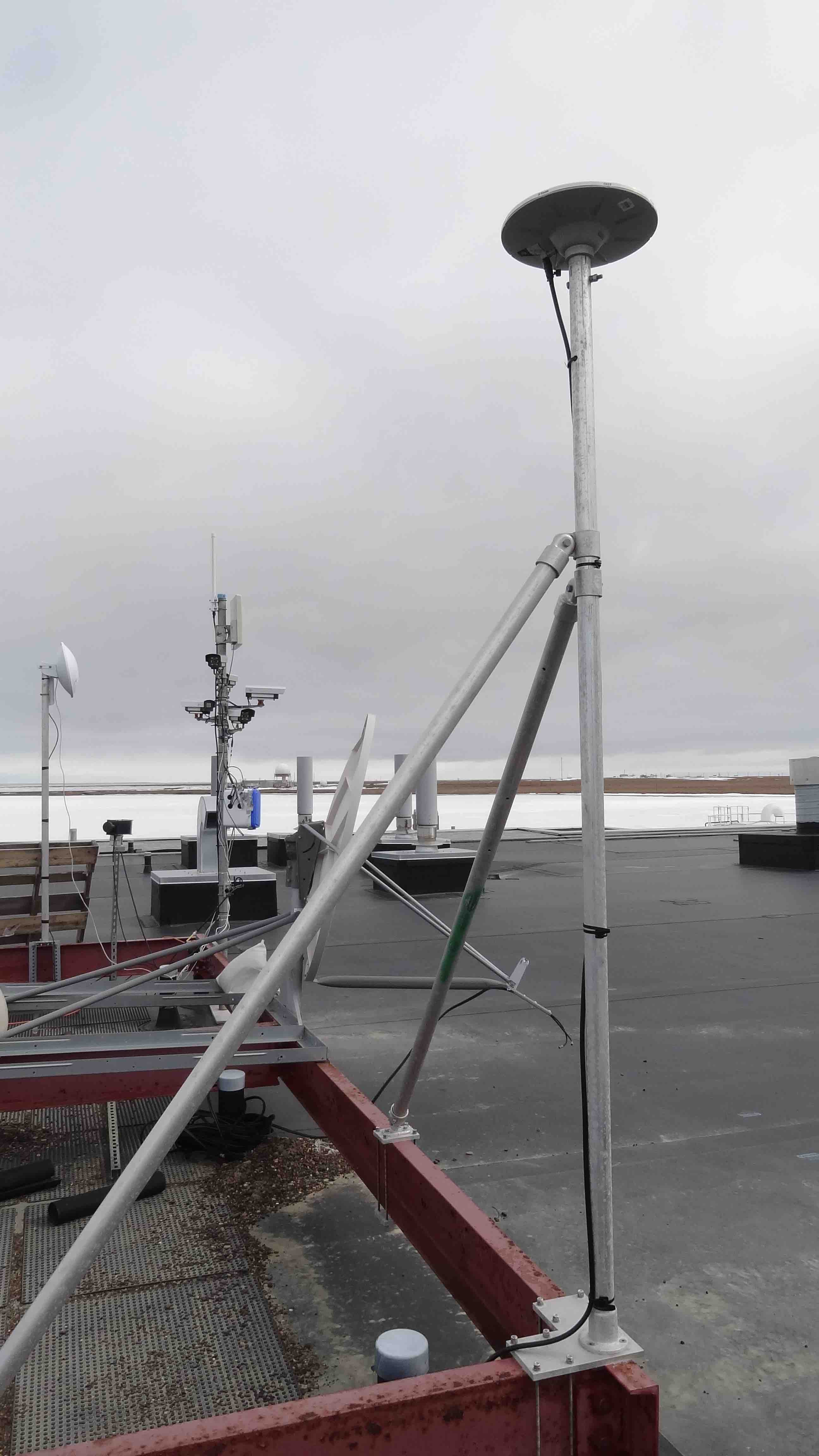 Barrow GNSS Survey System - Base Station | Projects | UNAVCO