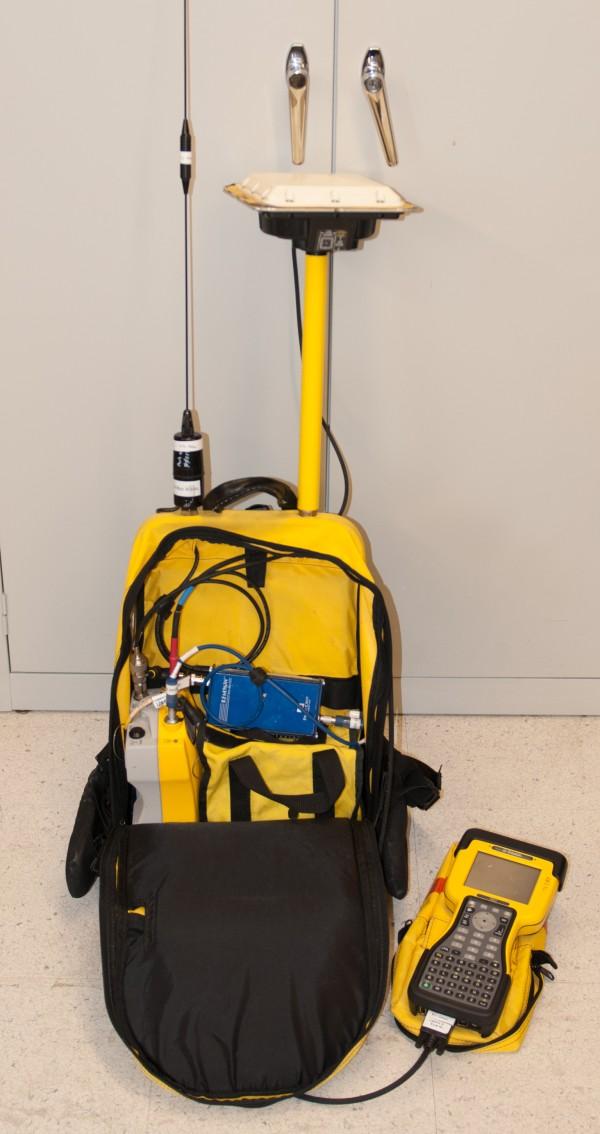 Palmer Station Gps Survey System Rover Equipment