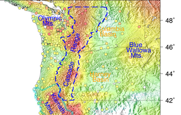 The Highs and Lows of Water Loading in the Pacific Northwest from GPS