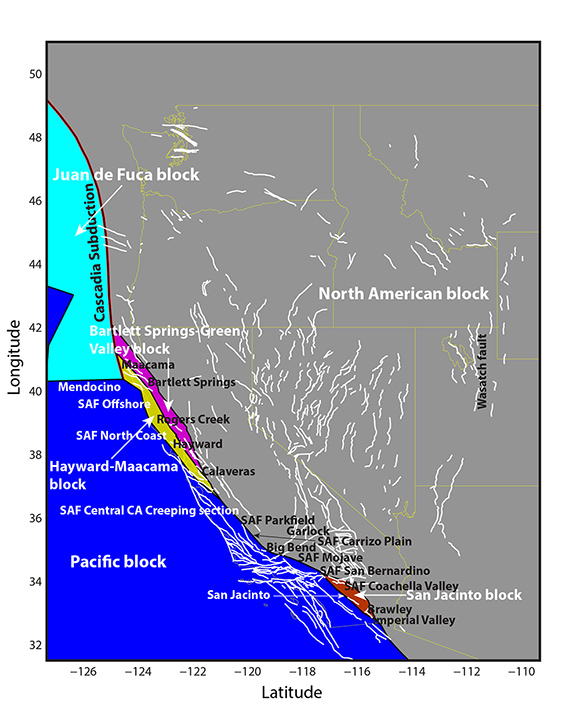 Finding Faults with Geodetic and Geologic Data: Deformation ...
