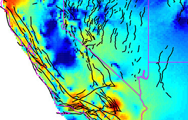 Finding Faults with Geodetic and Geologic Data: Deformation Model for the Western U.S.