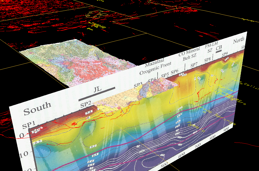 Unavco Idv Geology Maps And Vertical Cross Sections