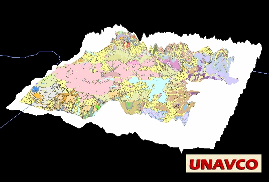 Yellowstone Elevation : Unavco idv geology maps and vertical cross sections