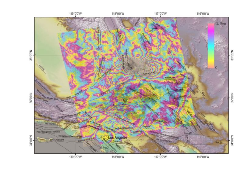 Data-wrapped InSAR image