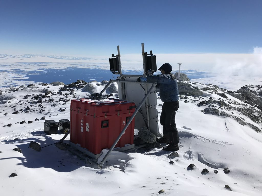 GPS station in Antarctica
