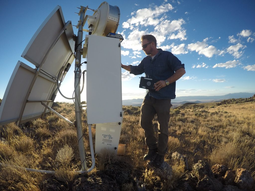 engineer services GPS station in Oregon