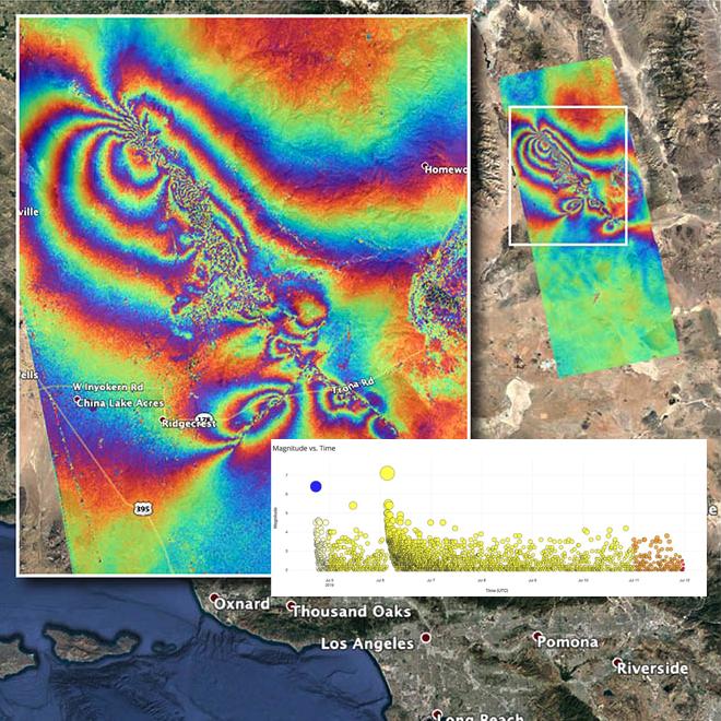 insar data on map
